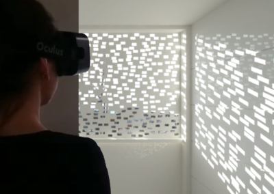 Daylighting pattern appraisal with virtual reality
