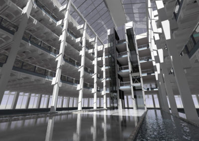 A_daylight_simulation_of_an_atrium_designed_by_Foggo_Arch