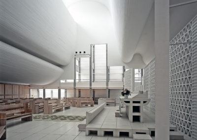 Bagsvaerd Church, Bagsvaerd, Denmark by Jorn Utzon