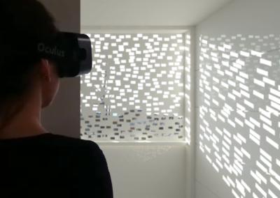 Daylighting pattern appraisal with virtual reality