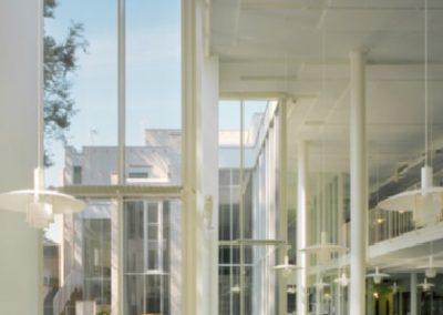 Swedish School of Social Science, University of Helsinki, Finland, by Juha Leiviskä, The Daylight Award 2020 Laureate, photo by Arno de la Chapelle